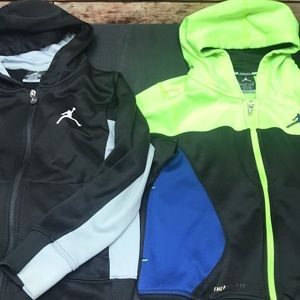 Jordan therma Fit Athletic jackets boys S 8-10 W74